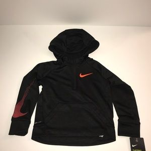 Nike Kids Pull Over/Partial Zipper Hoodie Size: 3T